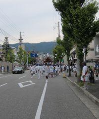 越木岩神社の秋祭り(だんじり巡行)