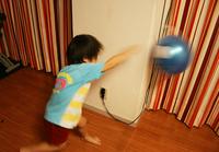 100均でできる!子供のパンチングボールをDIY