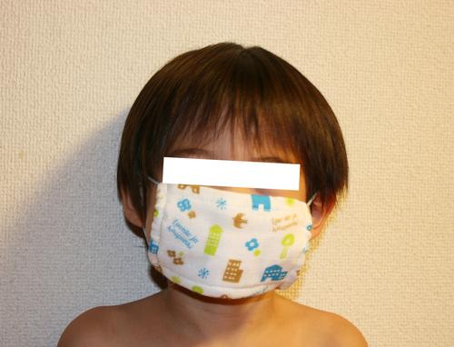 100均で手作り子供用マスク