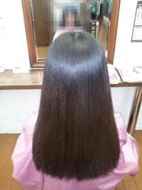 大阪 豊中市 美容院 縮毛矯正仕上がり