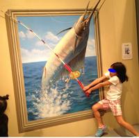 淡路島トリックアート展に行ってきました!