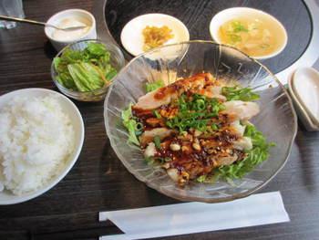 2度目江湖菜の「よだれ鳥」⭐️ランチパスポート