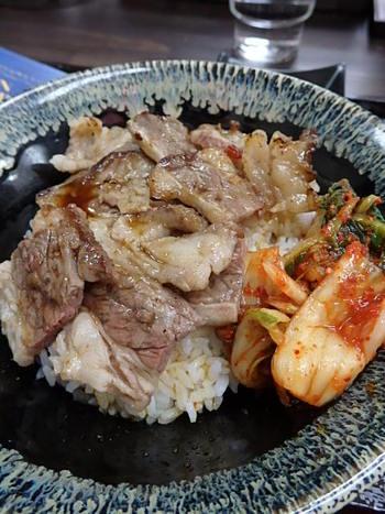 特製豚バラ丼とカルビ丼⭐️ランパス神戸第4弾!