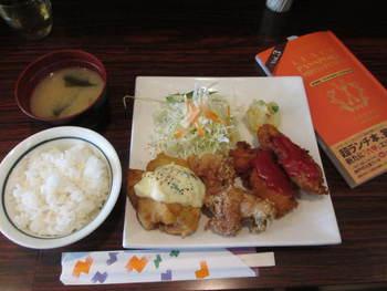 ランチパスポート神戸☆第3弾!初ランチは「ヒサミ」の鶏MIX定食⭐️ランパス第3弾!
