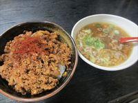 ガツ飯グルメお肉満載プルコギ丼☆杉本食堂☆