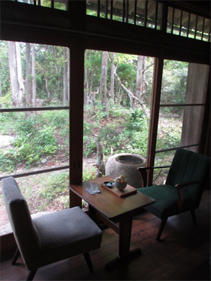 森の中の邸宅カフェ☆吹上の森☆