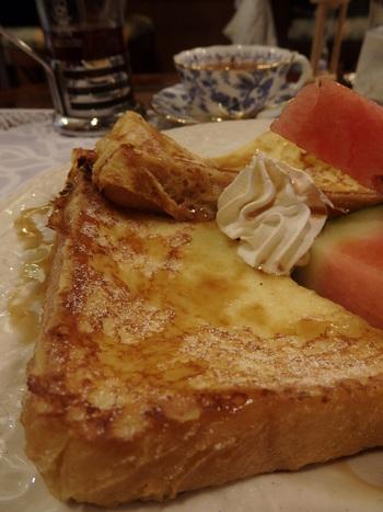 葡萄舎~フレンチトーストで贅沢気分♪★ランパス神戸第5弾!