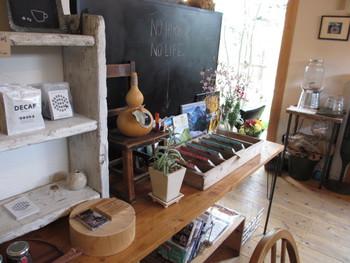 4月20日オープンのお洒落な一軒家cafeフクモナ