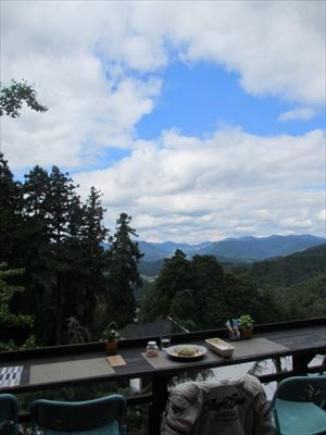 本瀧寺の境内にあるカフェ☆ほんたき山のカフェ☆