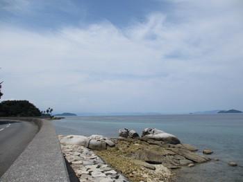 瀬戸内ジャムズガーデンとエメラルドグリーンの海!周防大島