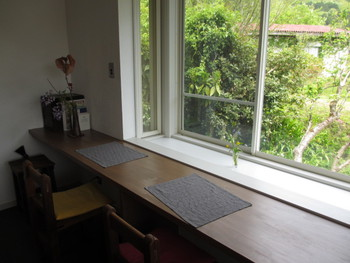 緑に囲まれた隠れ家カフェ「ヤドルノ」さん