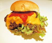 牛タン100%チーズバーガー 【静岡】牛タン100%ハンバーガー普及の会