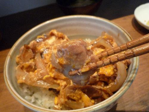 親子丼を作ってくれたんです(^^)