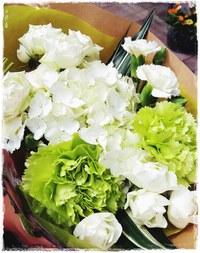 お花が好き。