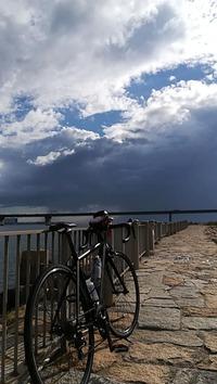 台風明けの大阪湾