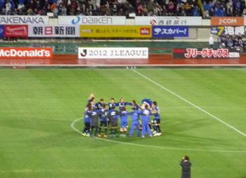 4/22VS清水エスパルス戦!!
