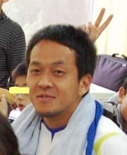 ふれあい活動の二川選手