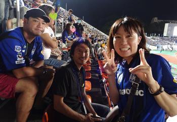 橋本選手とたむらけんじさん