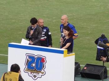 20周年記念試合vs浦和レッズ~その①