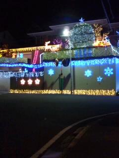 ★★クリスマス家ミネーション★★