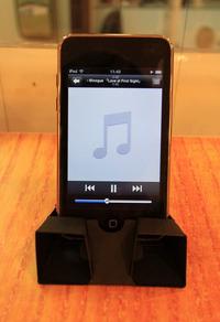 Iphone5,4/4S用紙製スピーカー オトガミ
