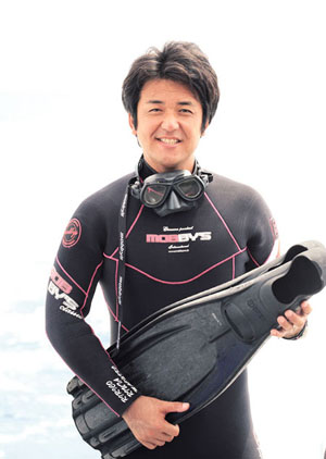 水中写真家 鍵井靖章 写真展