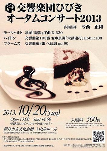 交響楽団ひびき オータムコンサート2013