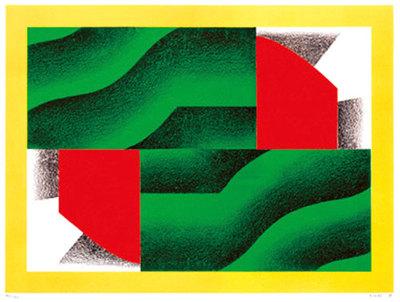 菅井汲/松谷武判-print works