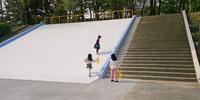 ふじのき公園の大すべり台が改修されました!