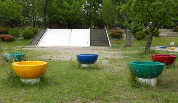 ふじのき公園の大すべり台が改修されます。(予定)