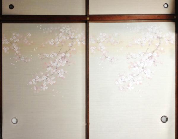 春らしい襖(ふすま)2