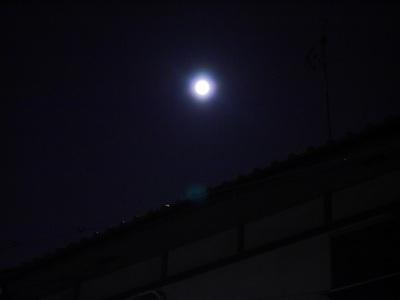 中秋の名月 スーパームーン