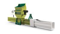 GREENMAX発泡スチロール減容機は、断熱ボードの優れた廃棄方法を提供します