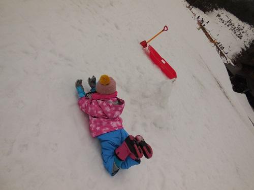 子供たちとスキー!