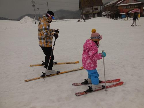 またスキーに行ってきた!