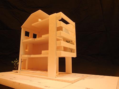 建築模型 3