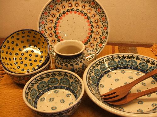 ポーランド食器 ceramika