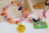 ◆美味フェスタ◆お菓子のレイ作り