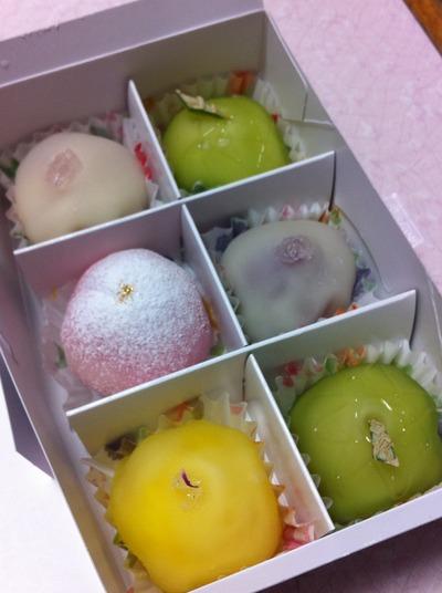 ◆美味フェスタ◆ フルーツ餅 松竹堂 さん
