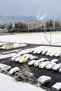さすが長野気候ちがう 雪はいつまで?
