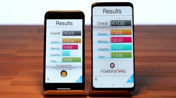 iPhone X、Samsung Galaxy S9+をほぼすべてのベンチマークで上回る