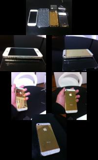 【iphone修理西宮】持込パーツでiphone5をカスタム