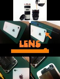【iphone修理西宮店】レンズに水滴を垂らすと顕微鏡に