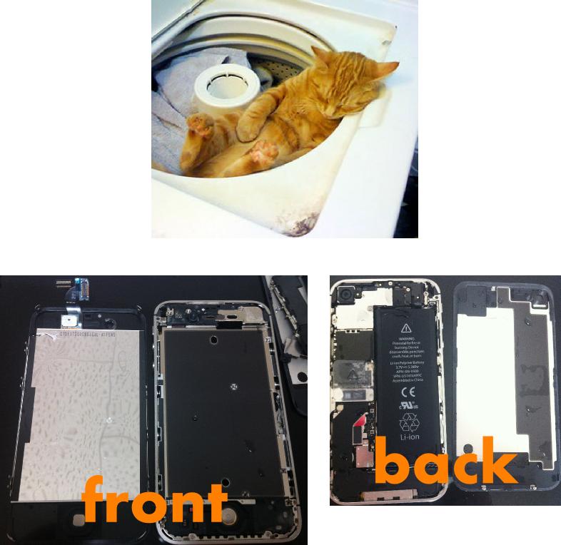 【iphone修理西宮店】直りにくいタイプの水没