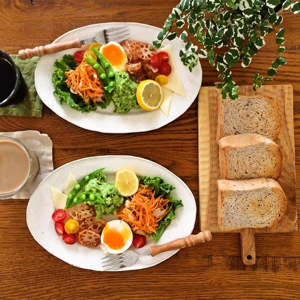 かどまさや玄米赤飯゜のある朝食を♪