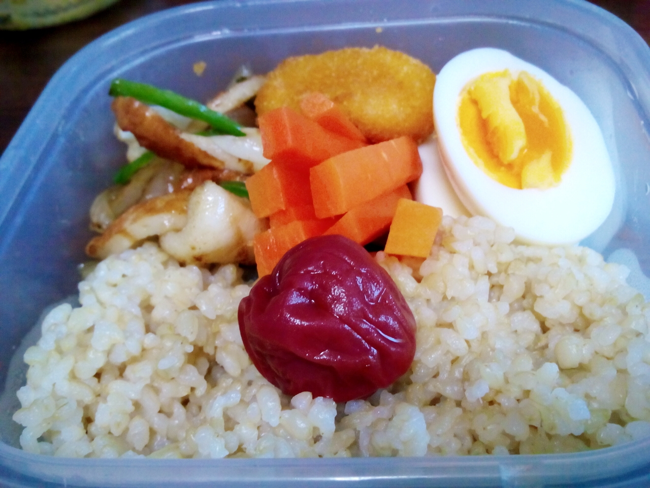 スーパー玄米のお弁当♪