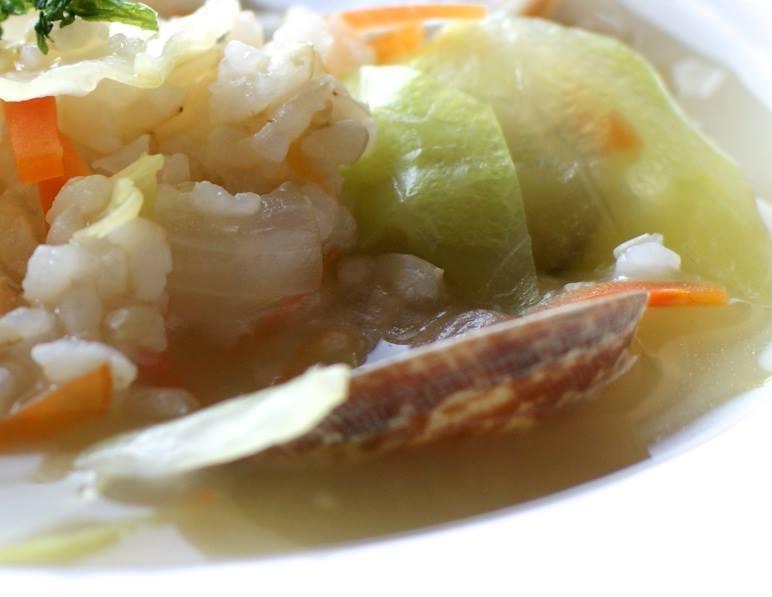 玄米雑炊♪