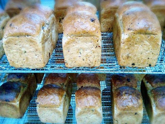 年内最終の玄米パン♪