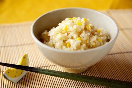 とうもろこしの玄米ご飯♪