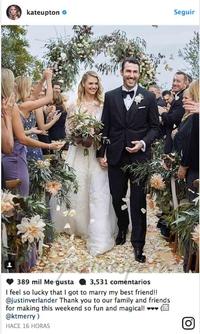 Kate Upton se sent chanceux d'être mariée à Justin Vogel